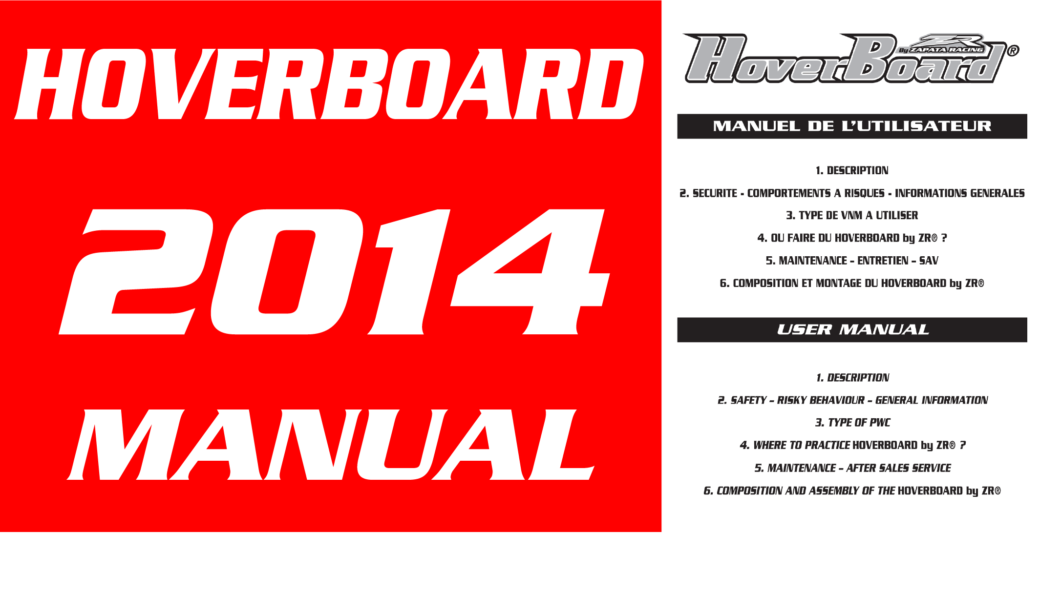 Hoverboard V1 2014 Manual Download