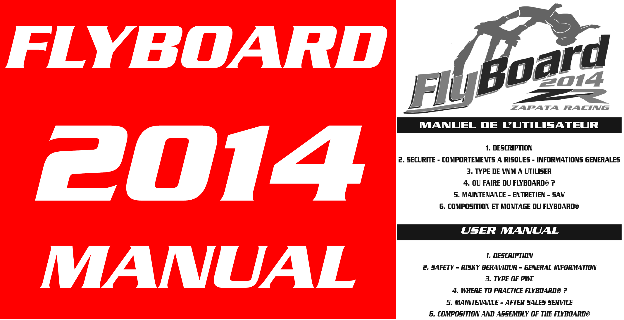 Flyboard V3 2014 Manual Download